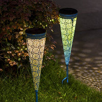 Waterproof Metal Warm White LED Stake Decorative Lights - AsitiGift