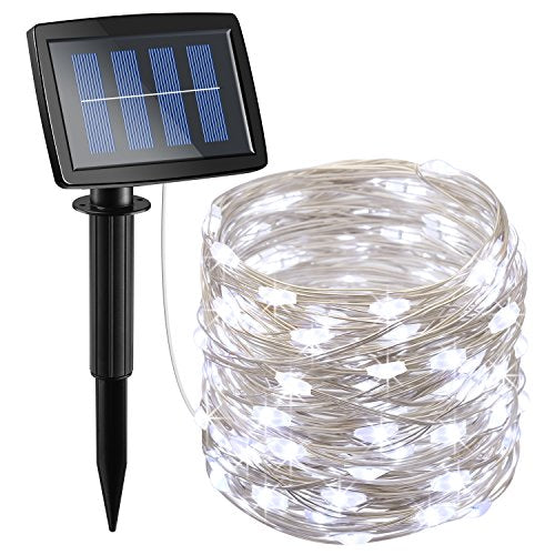 100 LED Copper Wire Lights Waterproof Solar Decoration Lights - AsitiGift