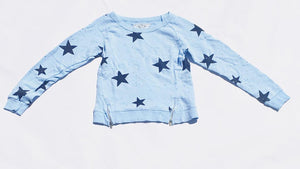2pc Light Blue Sweat Set - T 2 Love