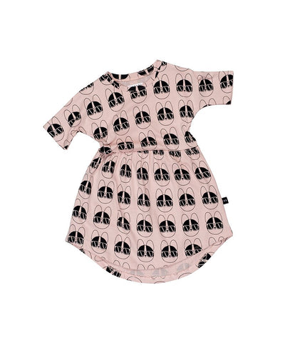 HUXBABY - French Shades Swirl Dress
