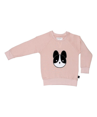 HUXBABY - Frenchie Applique Sweatshirt