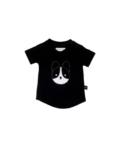 HUXBABY - Frenchie Applique DB T-Shirt
