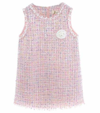 Image of Doe a Deer - Tweed Pearl Dress