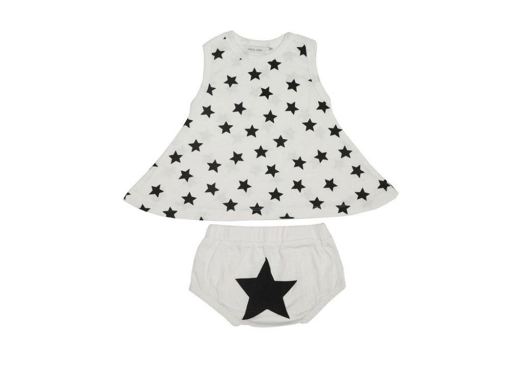Little Mish - Star Swing Top 2pc