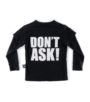 "NUNUNU - ""DON'T ASK"" T-Shirt"