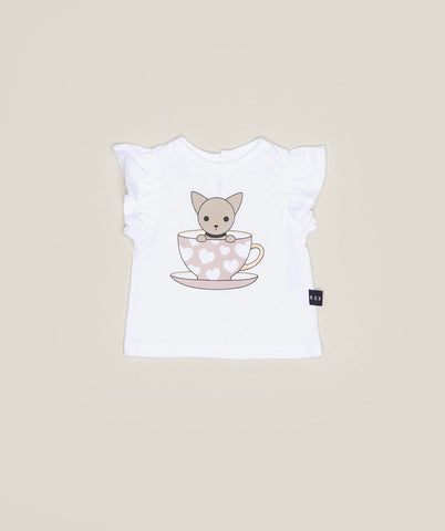 HUX - CHIHUAHUA CUP FRILL TOP
