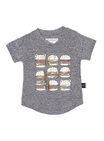 Image of HUX - SQUARE BURGER T-SHIRT