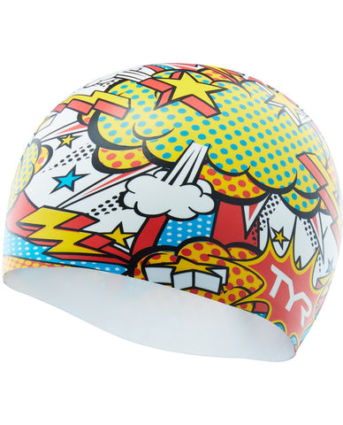 TYR COMIC ACTION SWIM CAP