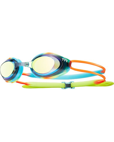 TYR BLACKHAWK RACING MIRRORED JUNIOR GOGGLES