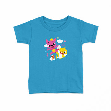Baby Shark Live! - Official Tour - Turquoise Toddler Tee