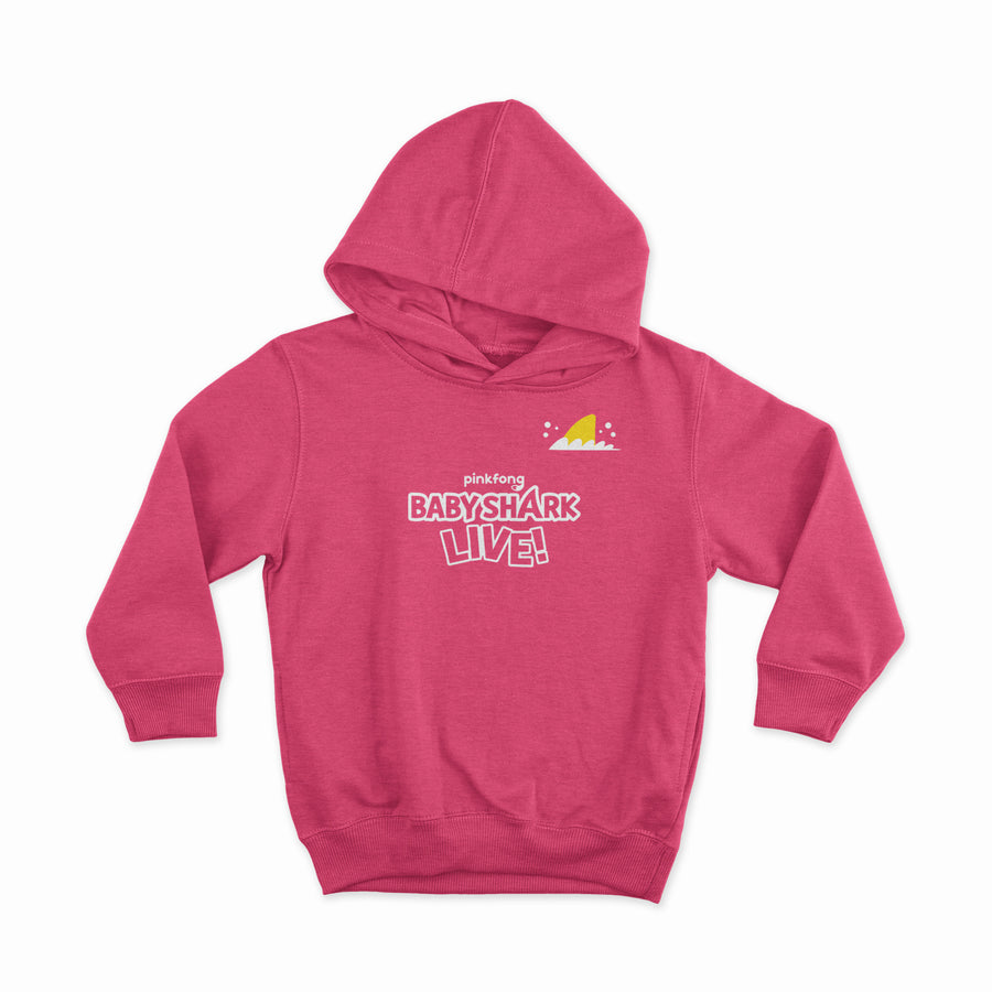 Baby Shark Live! - Baby Wink - Heather Pink Toddler Hoodie