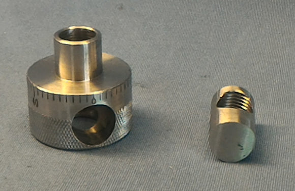 QuickSet / Educated Nut for Bridgeport Mill  1/2 20 Quill thread.