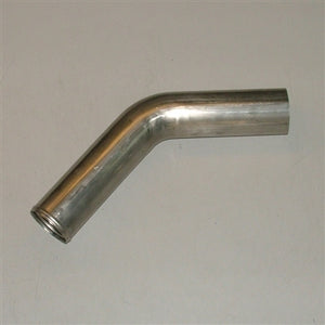 "3"" Stainless Steel Mandrel bent 45° Bend .065 Wall"