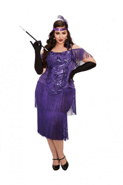Plus Size Miss Ritz Costume