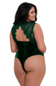 Evergreen Soft Stretch Velvet Teddy