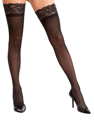 Plus Size Sheer Thigh Highs