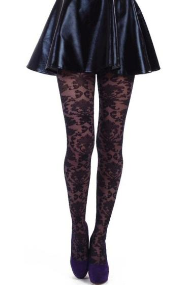 Baroque Tulle Tights  | BigSmalls™