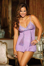 Soft And Supple Rayon/Spandex Knit Chemise