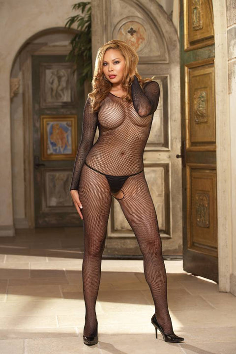 Fishnet Bodystocking (Black)