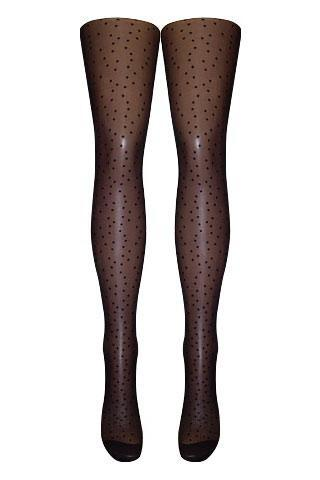 Sheer Mini Spot Tights   | BigSmalls™
