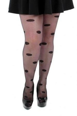 All Over Spots Sheer Tights  | BigSmalls™