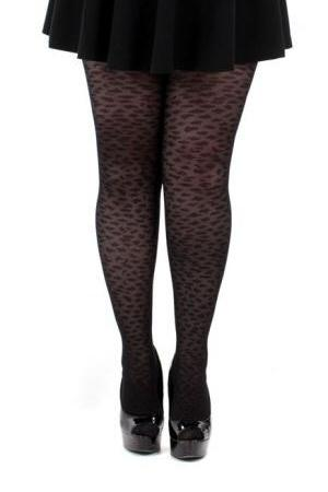 Knitted Leopard Print Tights  | BigSmalls™