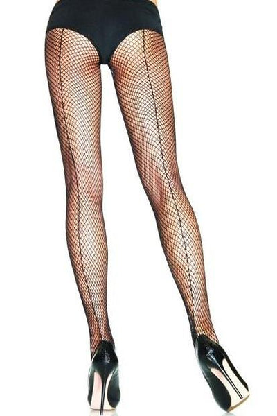 Fishnet Back Seam Tights  | BigSmalls™