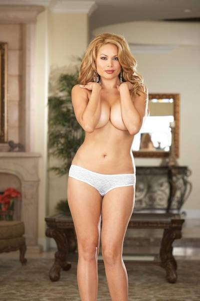 Low Rise Lingerie Shorts (White)