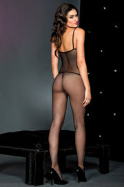 Fishnet Bodystocking Spaghetti Straps