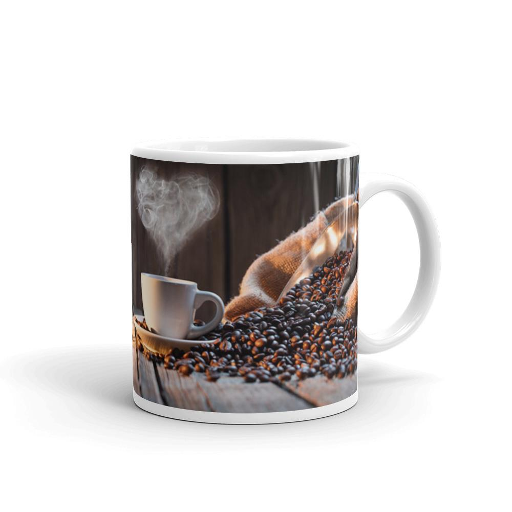 Hot Coffee Tea and Coffee Mug by Mister Fab - Mister Fab