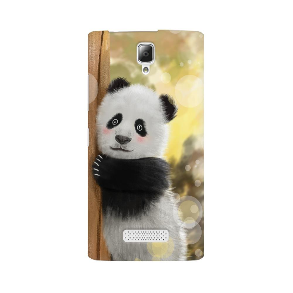 Cute Innocent Panda Lenovo Mobile Phone Cover - Mister Fab