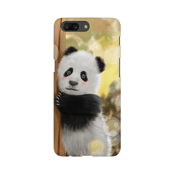 Cute Innocent Panda OnePlus Mobile Phone Cover - Mister Fab