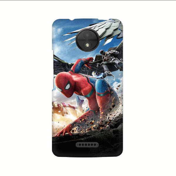 Spider-Man Iron Man Motorola Mobile Phone Cover - Mister Fab
