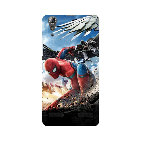 Spider-Man Iron Man Lenovo Mobile Phone Cover - Mister Fab