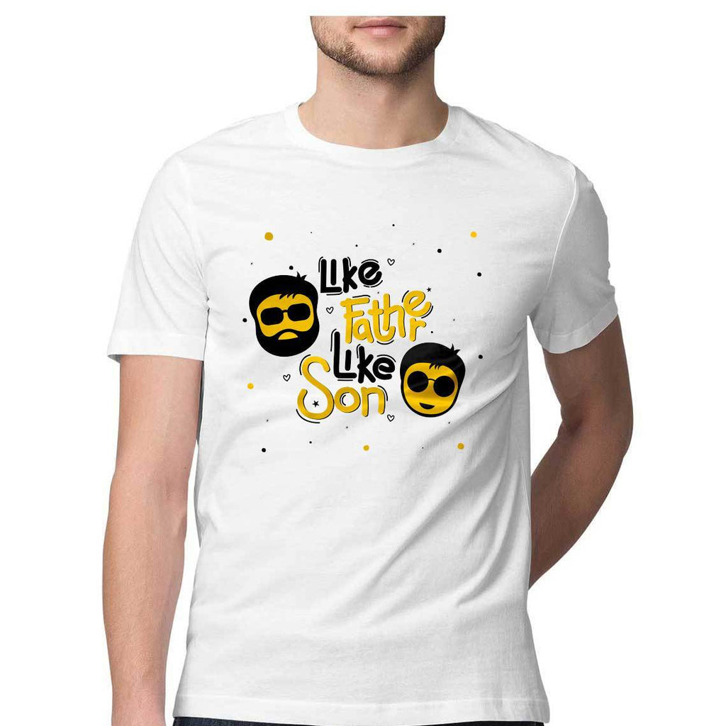 Like Father Like Son Round Neck T-Shirt - Mister Fab