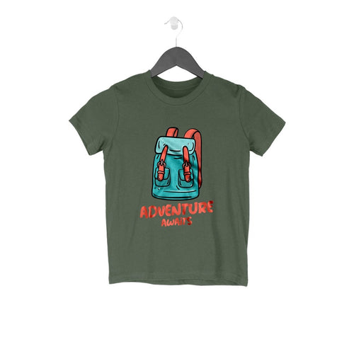 Adventure Awaits Kids T-Shirt - Mister Fab