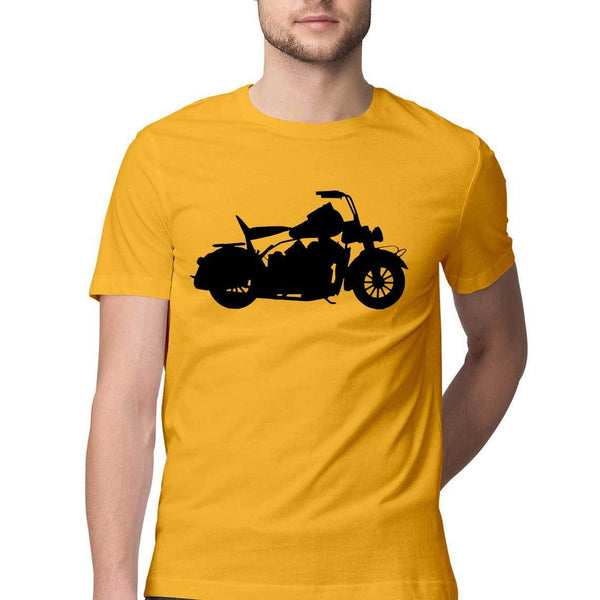 Royal Bike Round Neck T-Shirt - Mister Fab