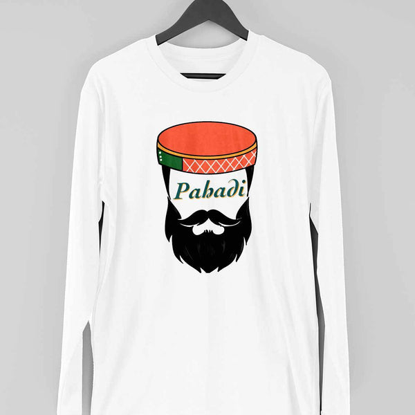 Pahadi Beardman Long Sleeve T-shirt - Mister Fab