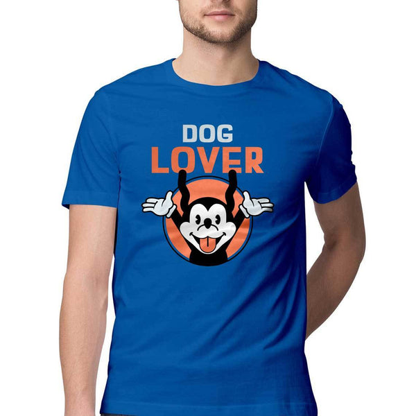 Dog Lover Round Neck T-Shirt - Mister Fab