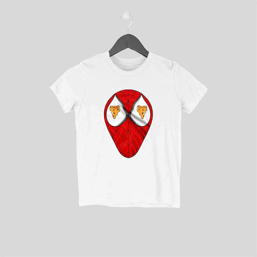 Spiderman Loves Pizza Kids T-Shirt - Mister Fab