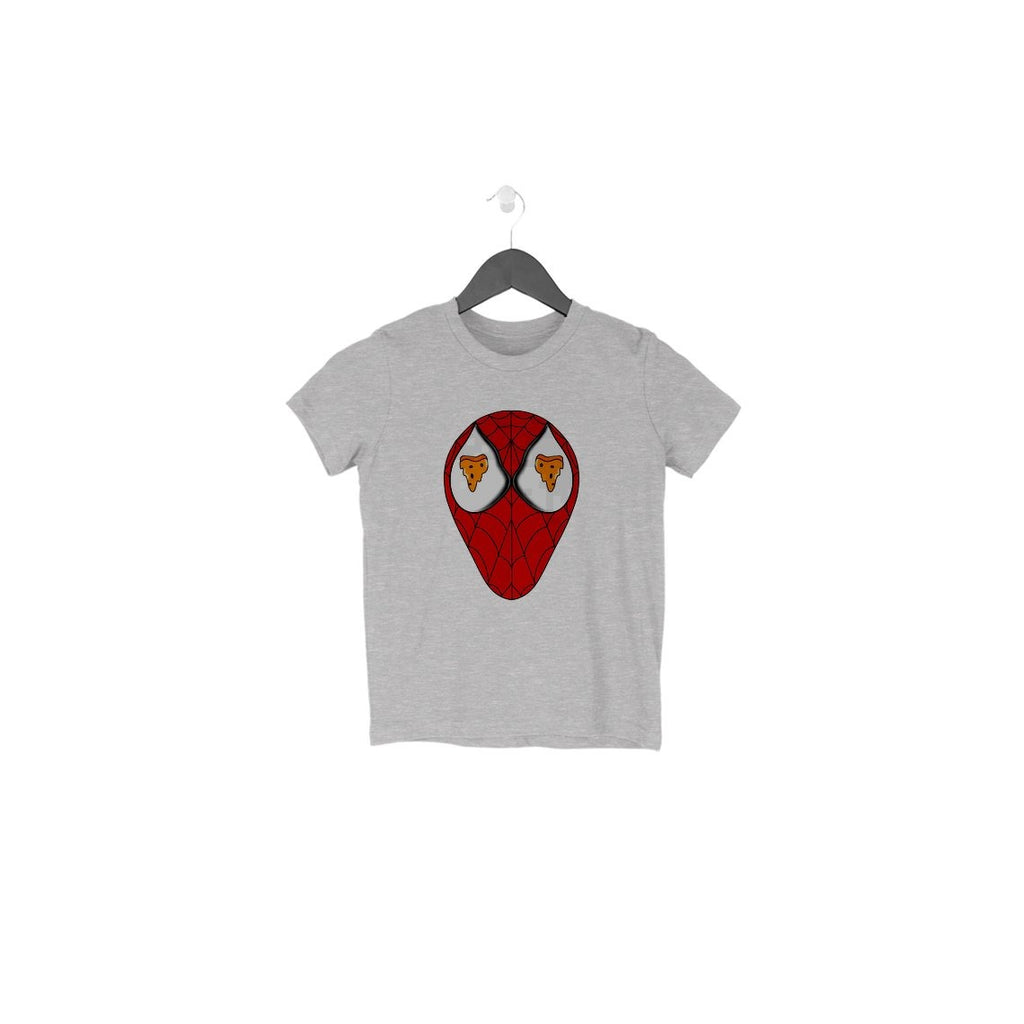 Spiderman Loves Pizza Toddler T-Shirt - Mister Fab