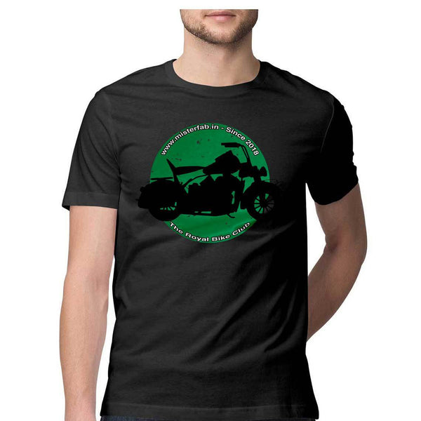 The Royal Bike Club Round Neck T-Shirt - Mister Fab