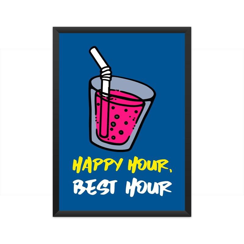 Happy Hour Poster - Mister Fab