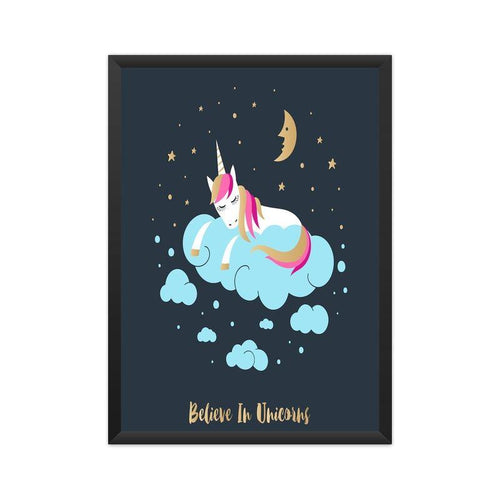 Believe in unicorns Poster - Mister Fab