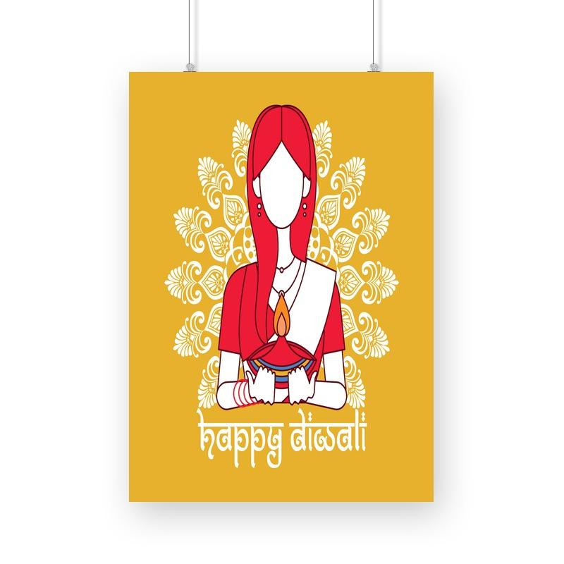 Happy Diwali Poster Mister Fab