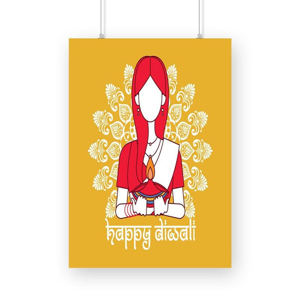 Happy Diwali Poster - Mister Fab