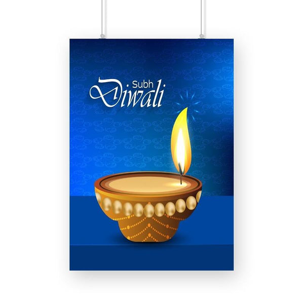 Shubh Diwali Poster - Mister Fab