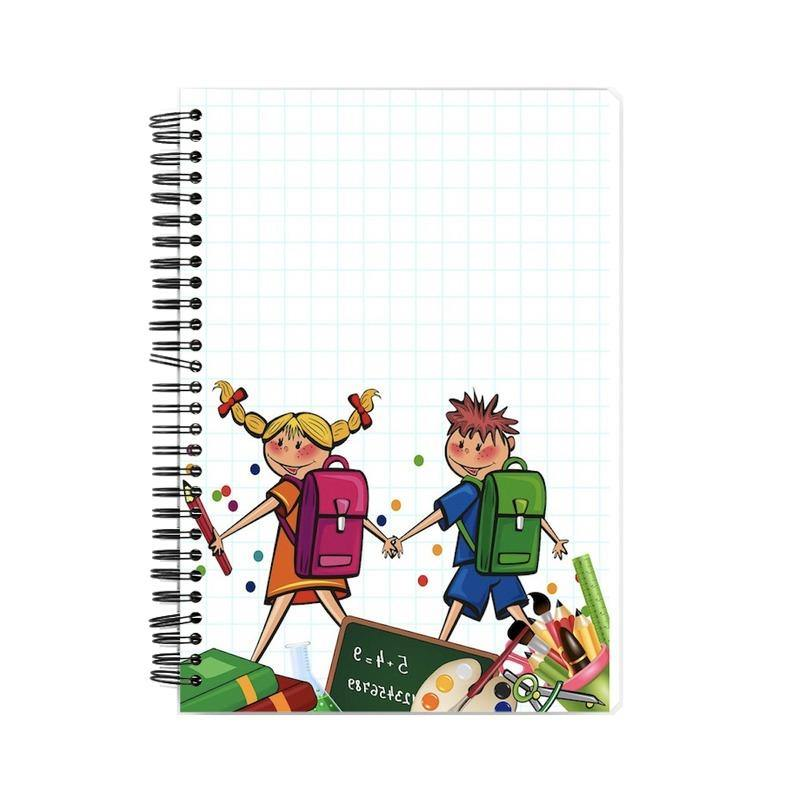 School Life Wiro Bound Notebook - Mister Fab