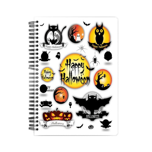 Halloween Wiro Bound Notebook by Mister Fab - Mister Fab