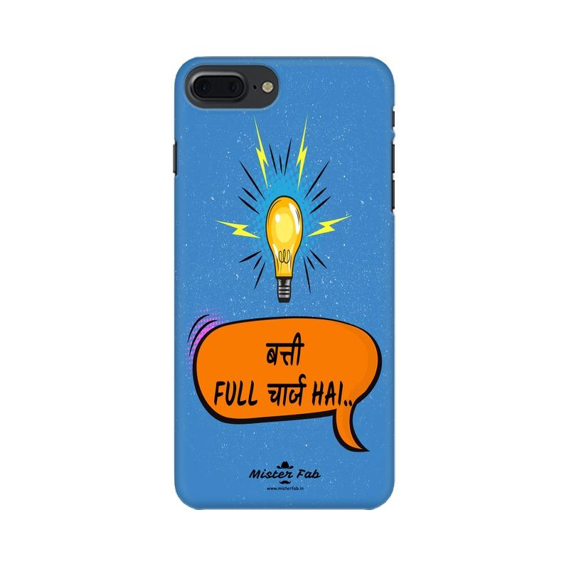 Batti Full Charge Hai Apple iPhone 7 Plus Mobile Cover - Mister Fab